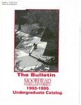 The Bulletin, Undergraduate Catalog 1993-1995 (1993)