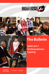The Bulletin, Undergraduate Catalog 2009-2011 (2009)