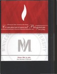 Commencement Program, May (2015) by Minnesota State University Moorhead