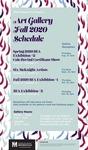 Art Gallery Fall 2020 Schedule by Minnesota State University Moorhead, School of Art