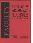 Faculty Handbook (1992) by Moorhead State University