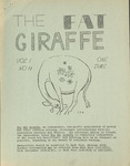 Fat Giraffe, volume 1, number 2 (1969) by Fat Giraffe