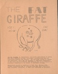 The Fat Giraffe, volume 1, number 3 (1969) by Fat Giraffe