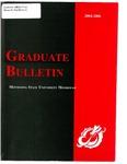 Graduate Bulletin, 2004-2006 (2004)