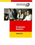 Graduate Bulletin, 2008-2010