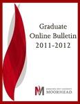 Graduate Online Bulletin, 2011-2012 (2011)