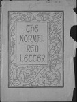 The Normal Red-Letter, volume 1, number 1