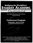 Bridging the Disciplines: Student Academic Conference