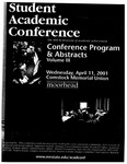 Student Academic Conference: Conference Program & Abstracts Volume III