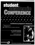 5th Annual Student Academic Conference: Conference Program & Abstracts Volume V