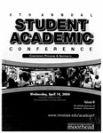 6th Annual Student Academic Conference: Conference Program & Abstracts Volume VI