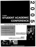 7th Annual Student Academic Conference: Conference Program & Abstracts Volume VII