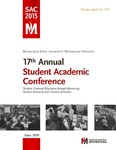17th Annual Student Academic Conference by Minnesota State University Moorhead