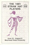 Straw Hat Players programs, 1981 season