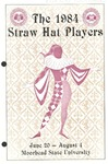 Straw Hat Players programs, 1984 season (1984)