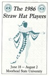 Straw Hat Players programs, 1986 season (1986)