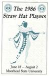 Straw Hat Players programs, 1986 season (1986) by Moorhead State University