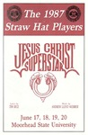 Straw Hat Players programs, 1987 season (1987)