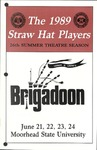 Straw Hat Players programs, 1989 (1989) by Moorhead State University