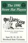 Straw Hat Players programs, 1990 (1990) by Moorhead State University