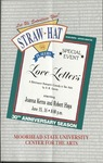 Straw Hat Players programs, 1993 (1993) by Moorhead State University