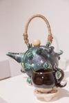 Talon Tea Pot and Cups by Cole Hovind