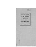 The bulletin, series two, number one, November (1906) by Minnesota. State Normal School (Moorhead, Minn.)