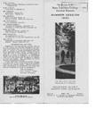 Bulletin, series 26, number 1, Summer session, April (1930)