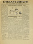 Literary Designs, May 15, 1944 by Moorhead State Teachers College