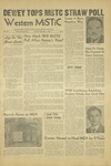 The Western Mistic, November 2, 1948 by Moorhead State Teachers College