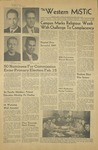 The Western Mistic, January 27, 1956 by Moorhead State Teachers College