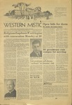 The Western Mistic, January 25, 1957 by Moorhead State Teachers College