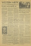 The Western Mistic, November 15, 1957 by Moorhead State College