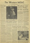 The Western Mistic, November 19, 1959 by Moorhead State College