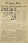 The Western Mistic, January 13, 1961 by Moorhead State College