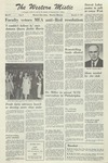The Western Mistic, November 17, 1961 by Moorhead State College