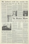 The Western Mistic, December 8, 1961 by Moorhead State College