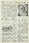 The Western Mistic, January 5, 1962 by Moorhead State College